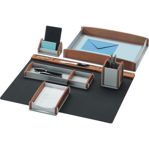 rumold schreibtisch set buche aluminium ve 6 st ck. Black Bedroom Furniture Sets. Home Design Ideas