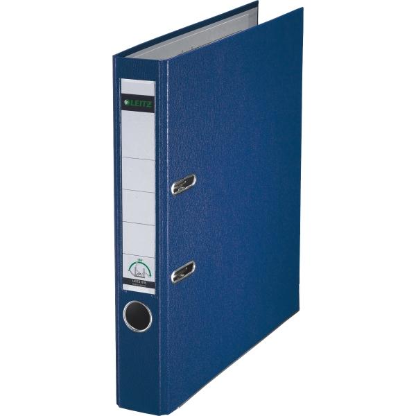 leitz ordner kunststoff a4 180grad 52mm blau. Black Bedroom Furniture Sets. Home Design Ideas