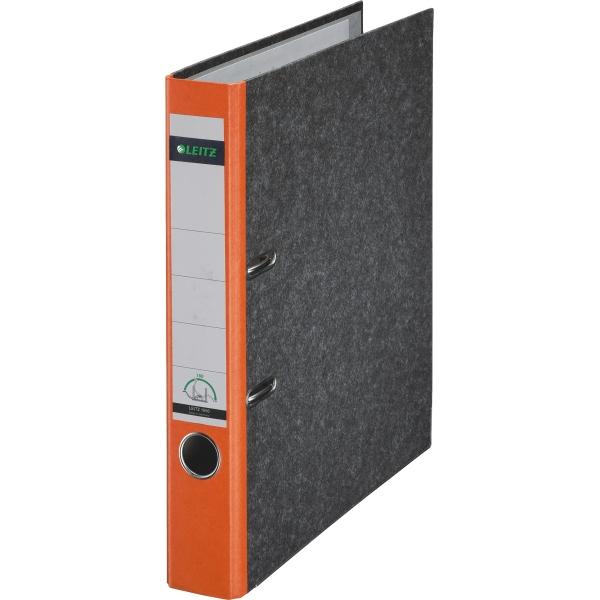 leitz ordner a4 wolkenmarmor 180grad 52mm orange. Black Bedroom Furniture Sets. Home Design Ideas
