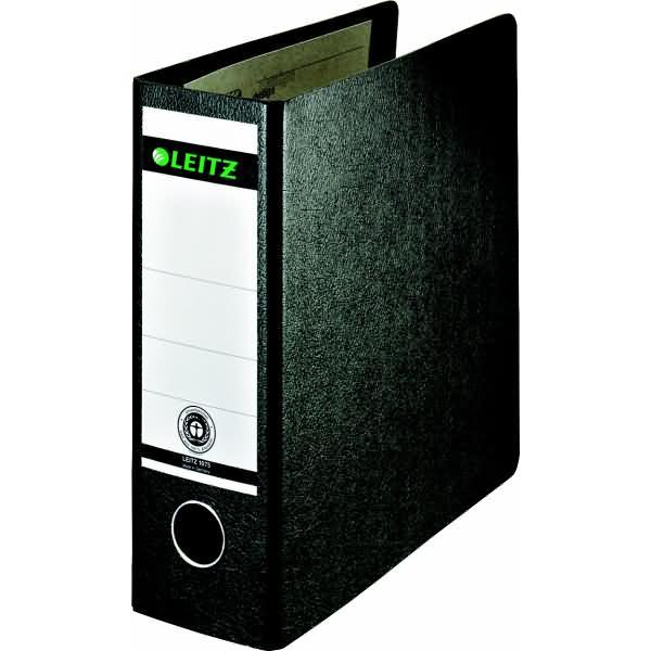 leitz ordner a5 hoch 77mm hartpappe schwarz. Black Bedroom Furniture Sets. Home Design Ideas
