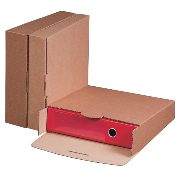smartboxpro ordner versandbox basic 320x288x80mm brau. Black Bedroom Furniture Sets. Home Design Ideas
