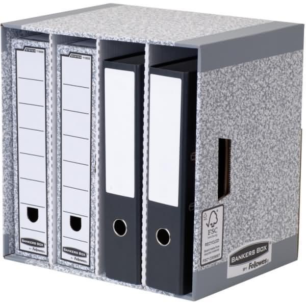 bankers box schreibtisch organizer system 4 f cher bxhxt. Black Bedroom Furniture Sets. Home Design Ideas