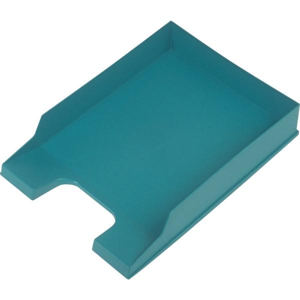 helit briefablage a4 polystyrol gr n. Black Bedroom Furniture Sets. Home Design Ideas