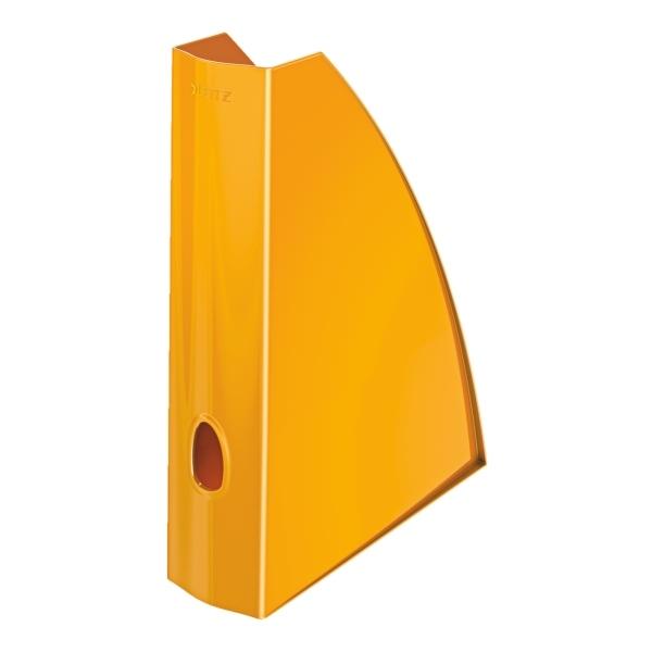 leitz stehsammler wow a4 ps orange metallic. Black Bedroom Furniture Sets. Home Design Ideas