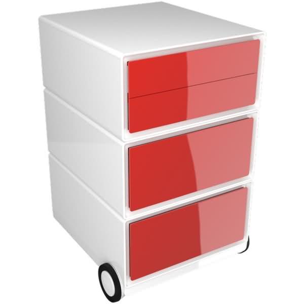 easybox rollcontainer hxbxt 64 2x39x43 6cm 2 schubladen 1. Black Bedroom Furniture Sets. Home Design Ideas