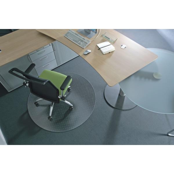 ecogrip bodenschutzmatte ecogrip f r teppichb den 60cm transparent rund. Black Bedroom Furniture Sets. Home Design Ideas
