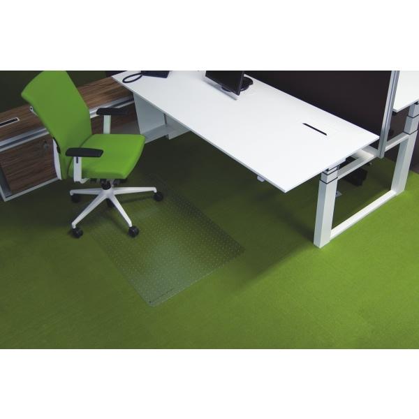 ecogrip bodenschutzmatte ecogrip f r teppichb den 75x120cm transparent eckig. Black Bedroom Furniture Sets. Home Design Ideas