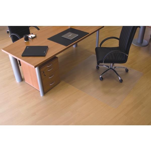 ecogrip bodenschutzmatte ecogrip f r hartb den 90x120cm transparent eckig. Black Bedroom Furniture Sets. Home Design Ideas
