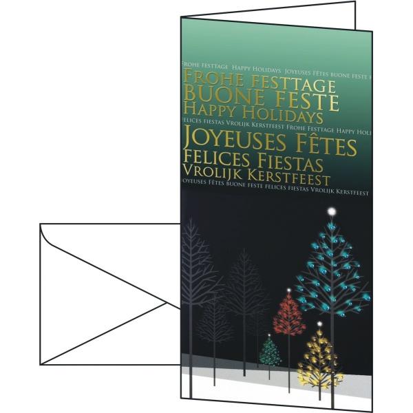 Sigel weihnachtskarten mysterious night goldpr gung din for Sigel weihnachtskarten